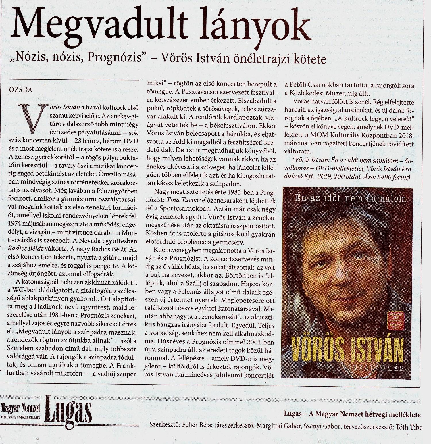 Magyar Nemzet cikk