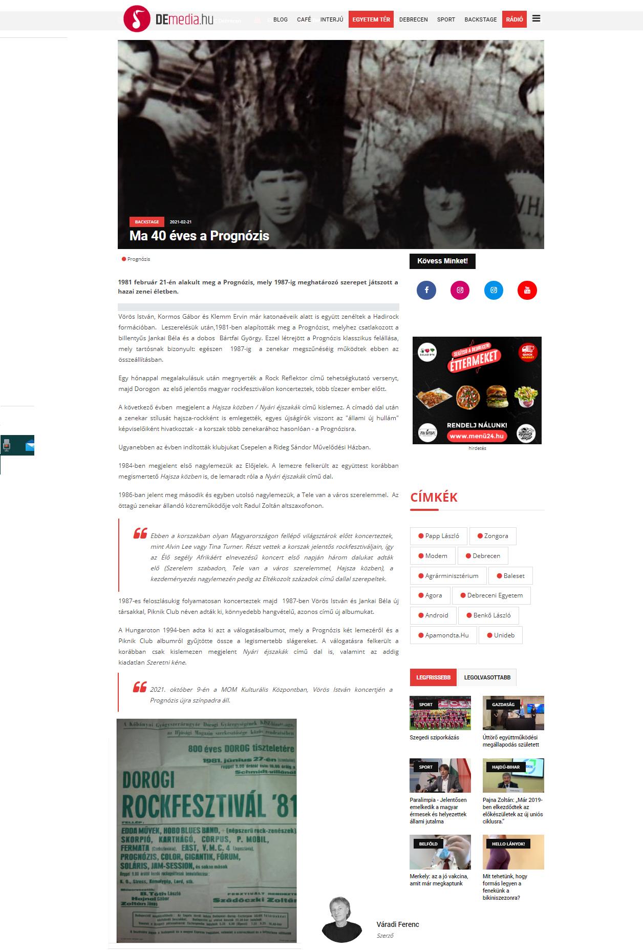 Demedia.hu cikk